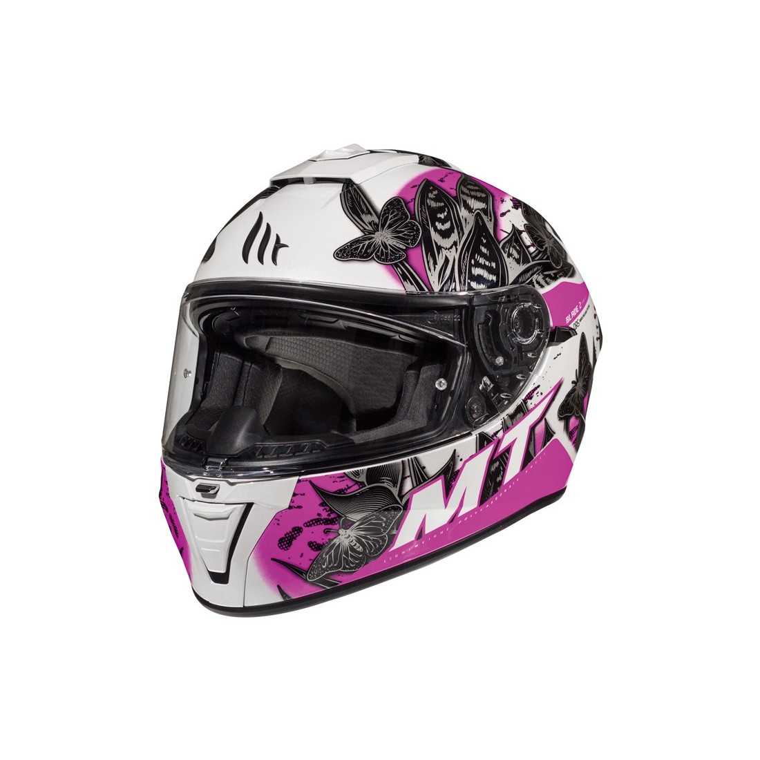Casco MT FF107SV BLADE 2 SV BREEZE D8 Rosa Perla Brillo TALLA CASCO XS
