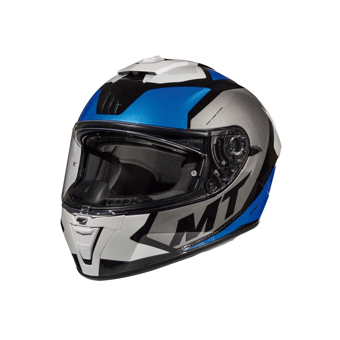 Casco MT FF107SV BLADE 2 SV TRICK C7 Azul Perla Brillo TALLA CASCO XS