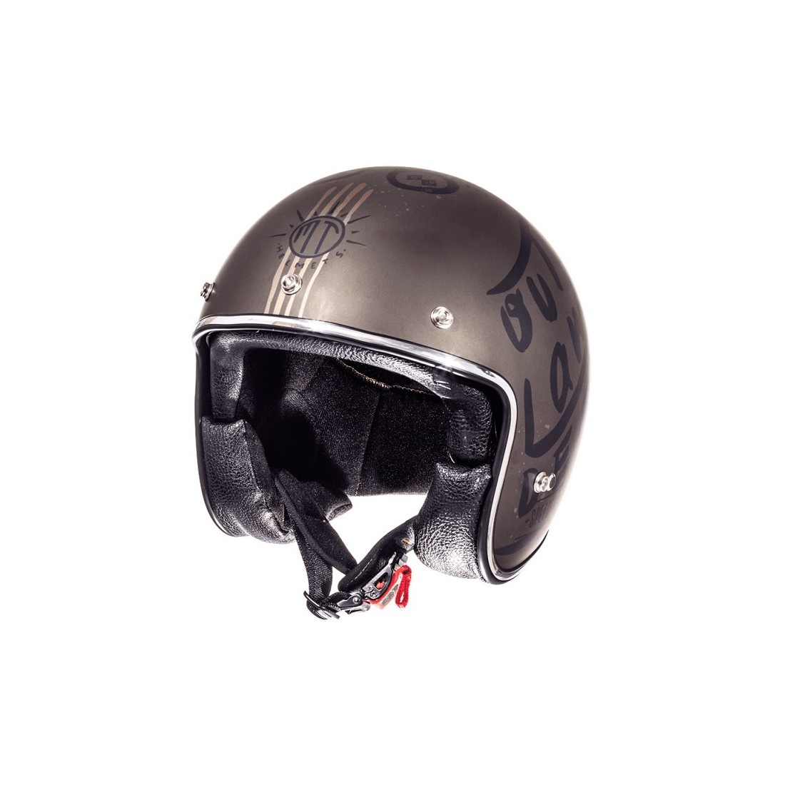 Casco MT OF507SV LE MANS 2 SV OUTLANDER A0 Marrón Mate TALLA CASCO XS