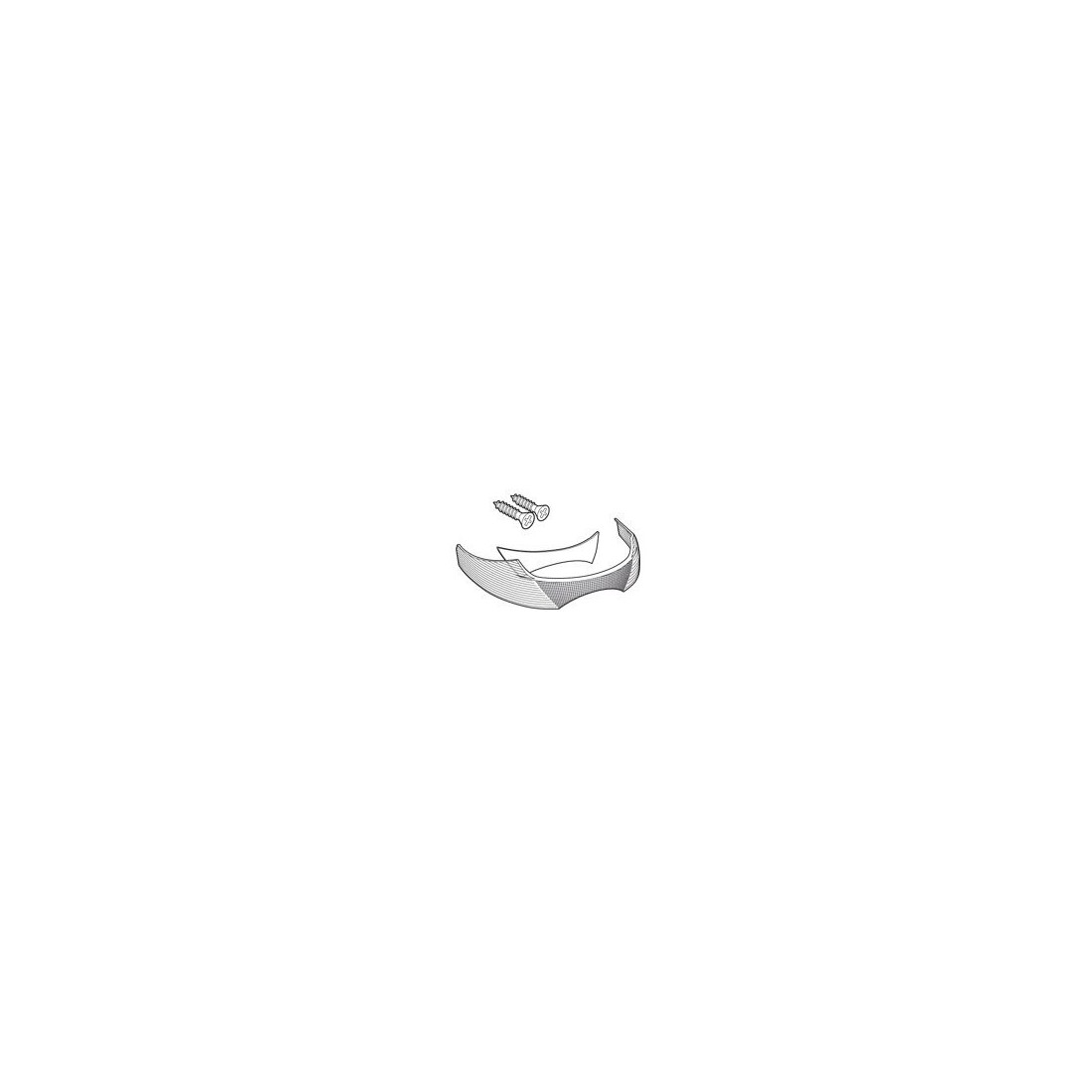 Catadrióptico Blanco Shad SH33
