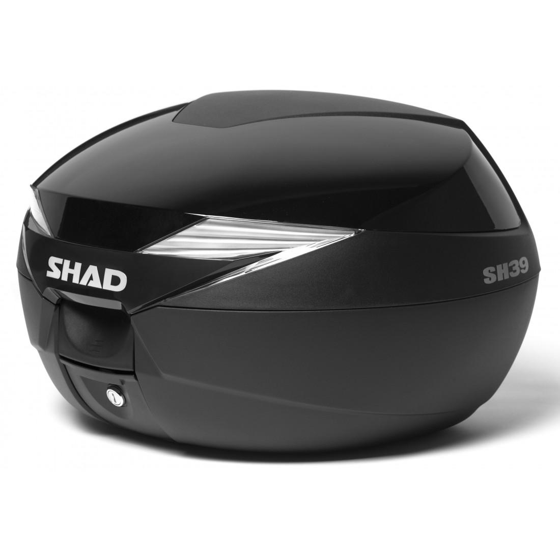 Tapa Baúl Shad SH39 39lt Negro Metal