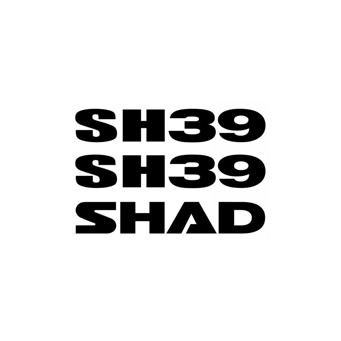 Recambio Cjt Adhesivos Shad SH39