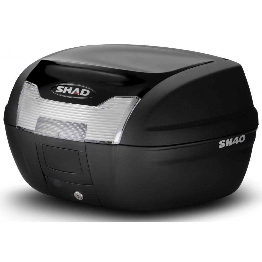 Tapa Baúl Shad SH40 40lt Negro Metal