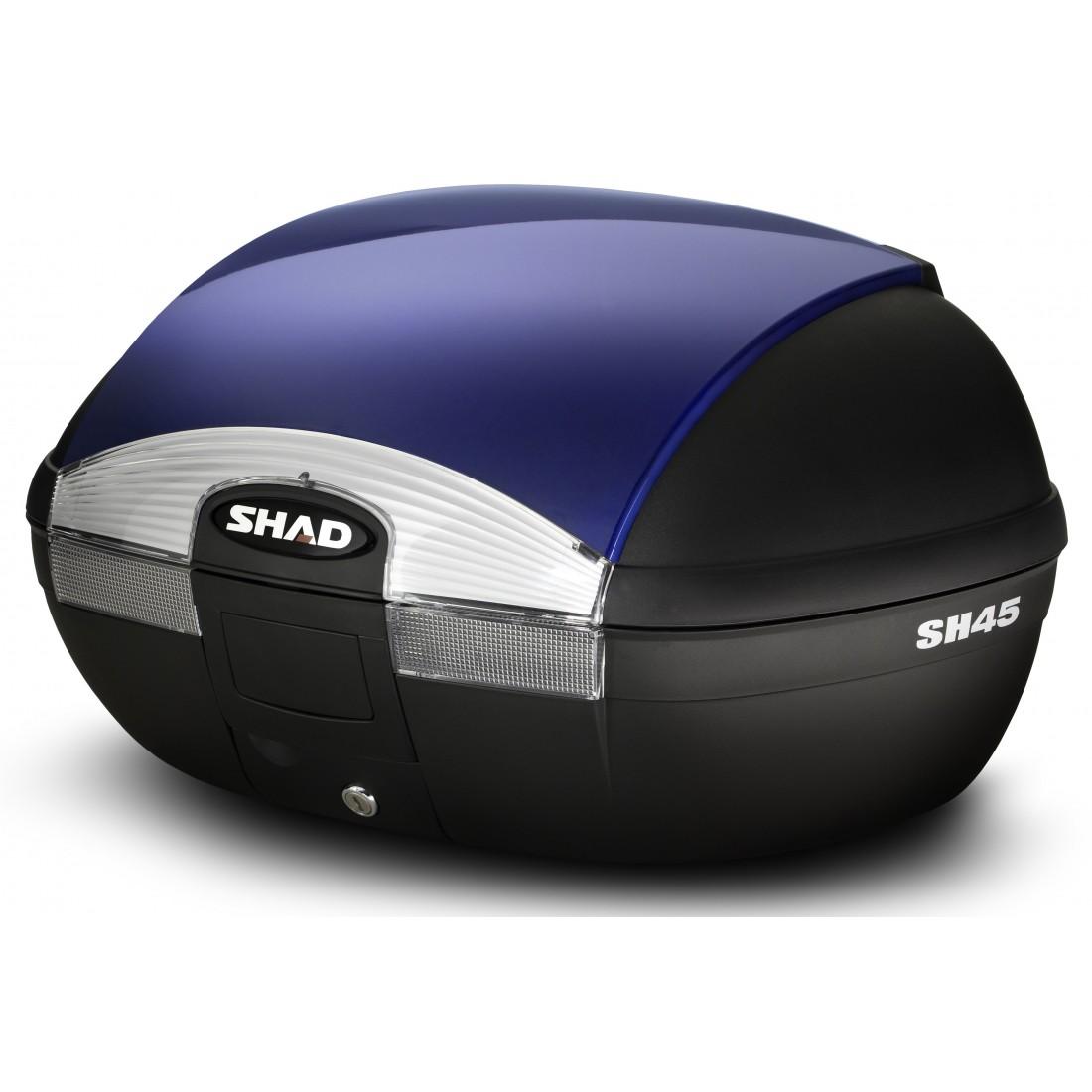 Tapa Baúl Shad SH45 45lt Azul