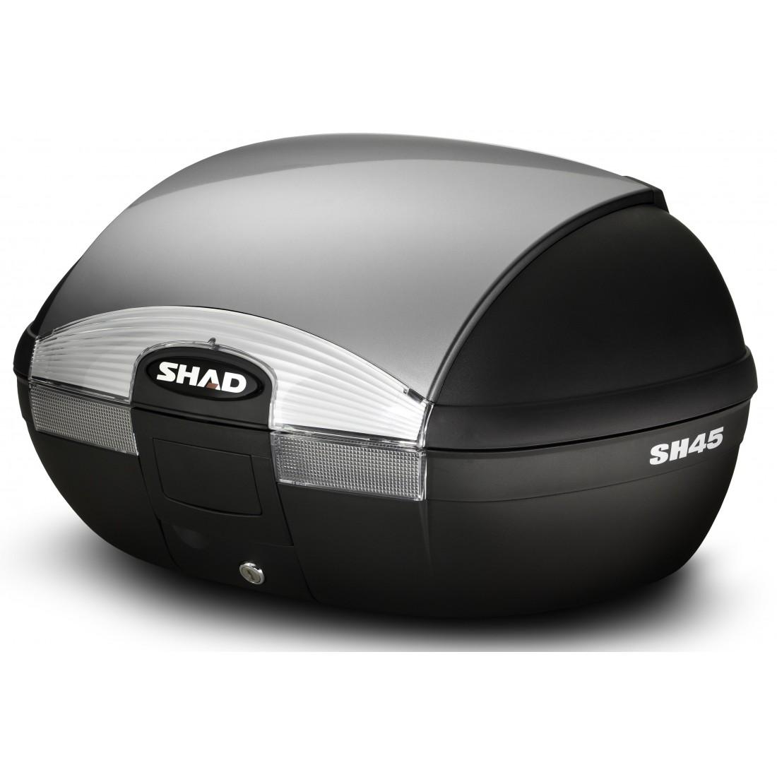 Tapa Baúl Shad SH45 45lt Plata