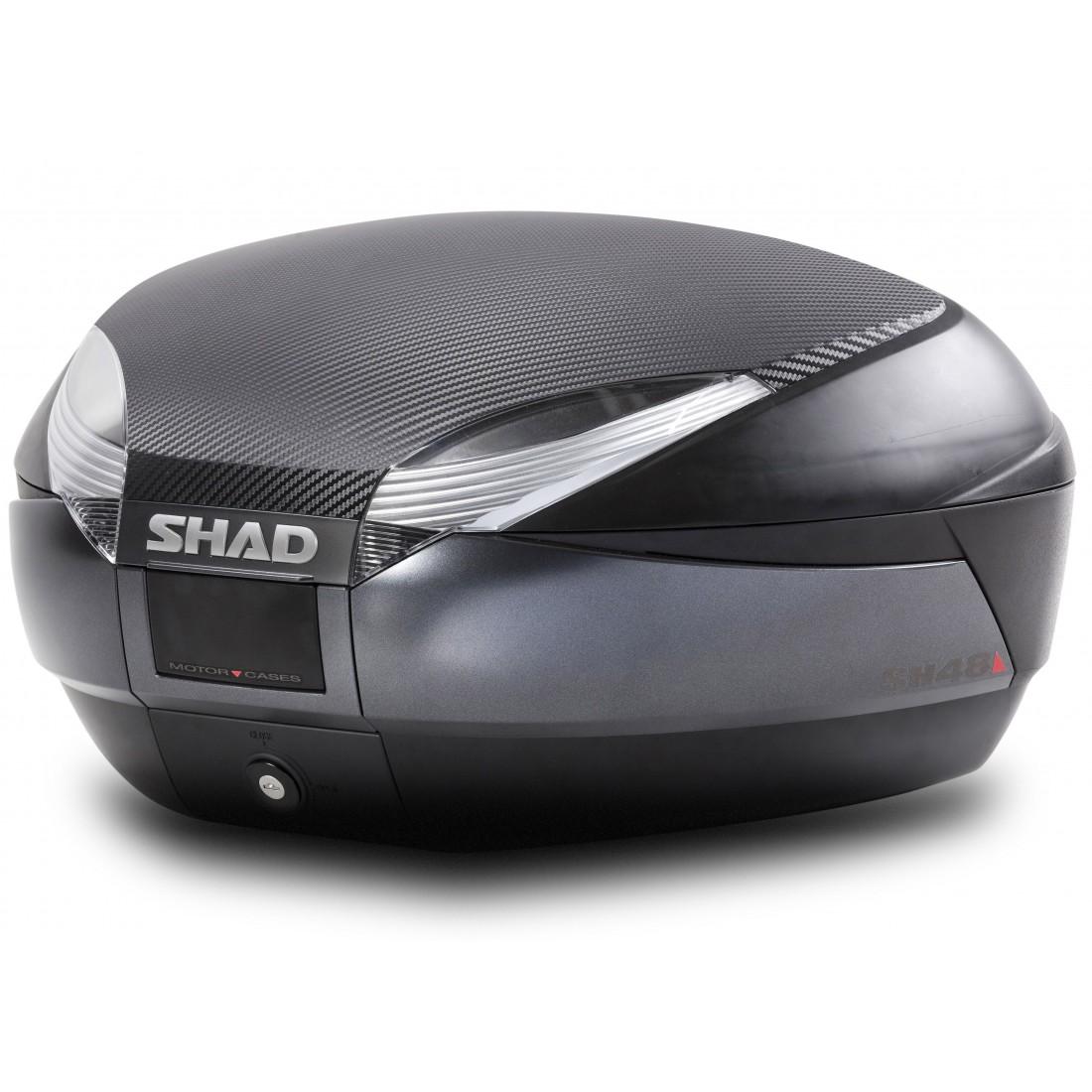 Tapa Baúl Shad SH48 48lt Carbono