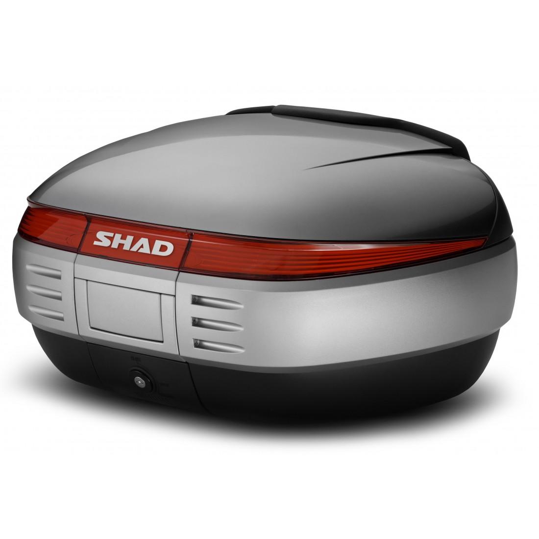 Tapa Baúl Shad SH50 50lt Plata