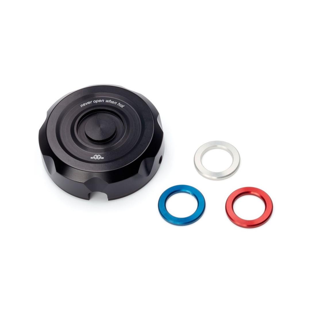 Tapón Radiador Yamaha MT-10 16-18 Negro