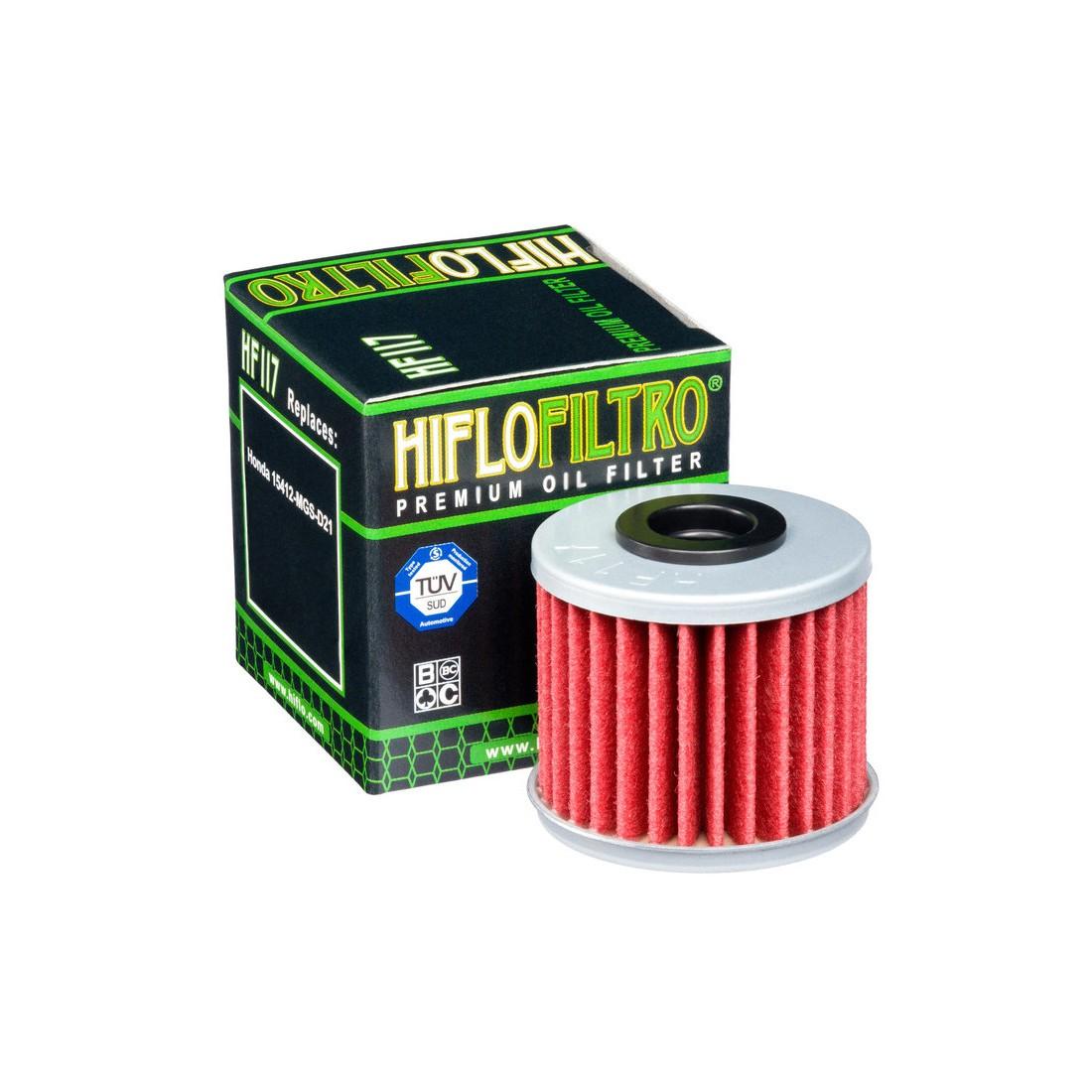Filtro Aceite Hiflofiltro HF117