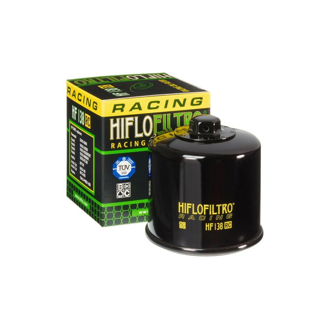 Filtro Aceite Racing Hiflofiltro HF138RC