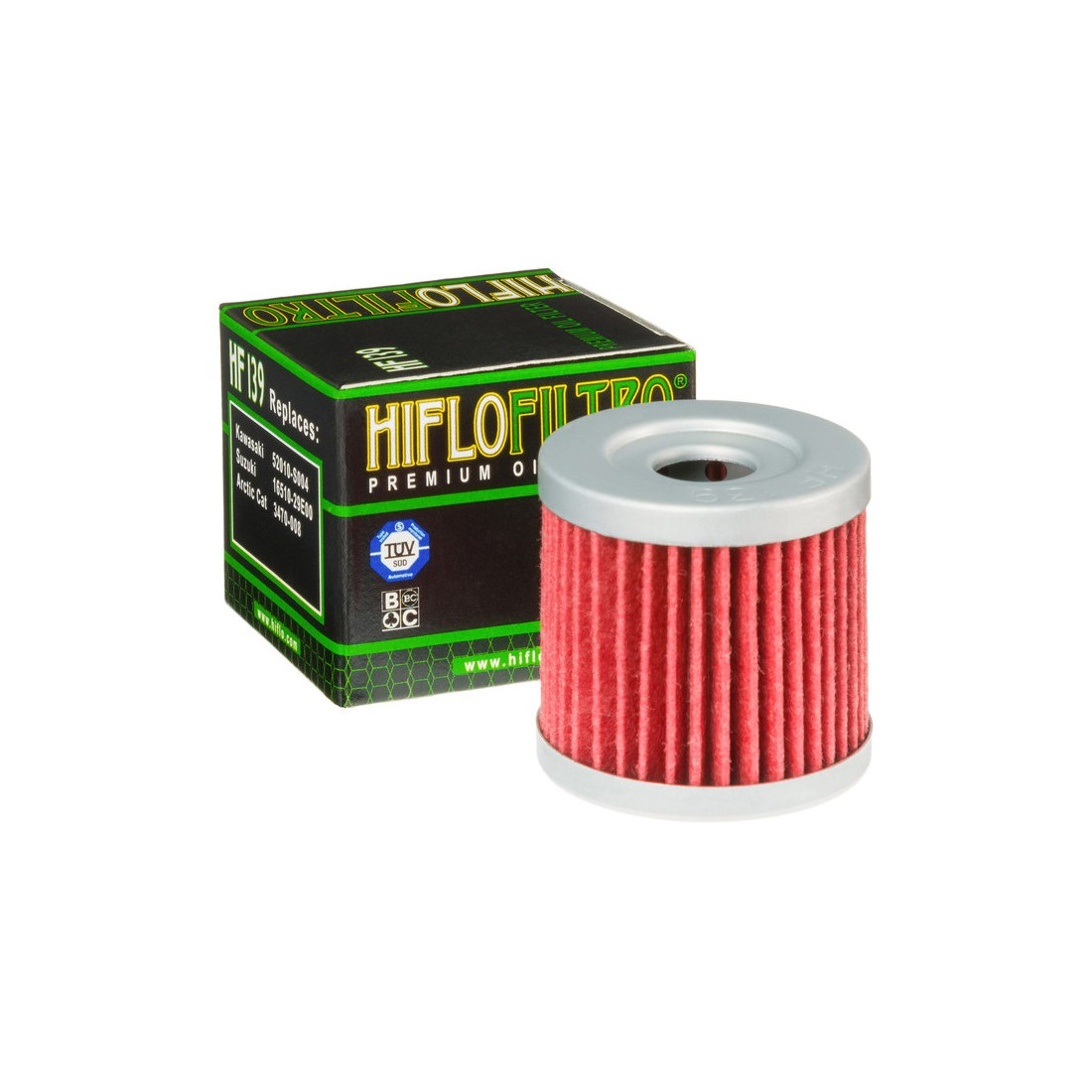 Filtro Aceite Hiflofiltro HF139