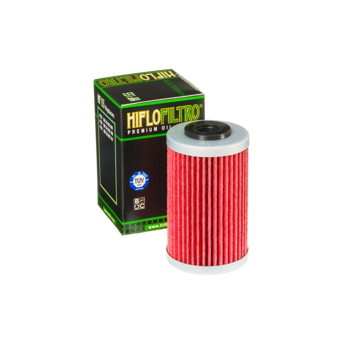 Filtro Aceite Hiflofiltro HF155