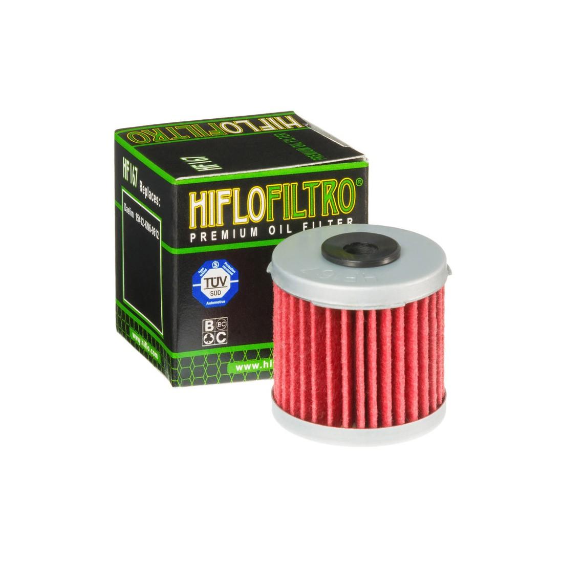 Filtro Aceite Hiflofiltro HF167