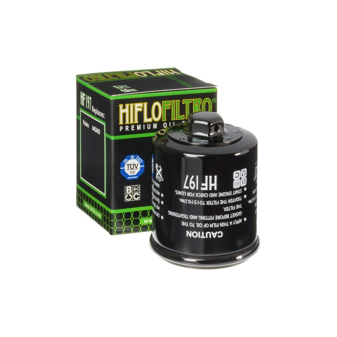 Filtro Aceite Hiflofiltro HF197