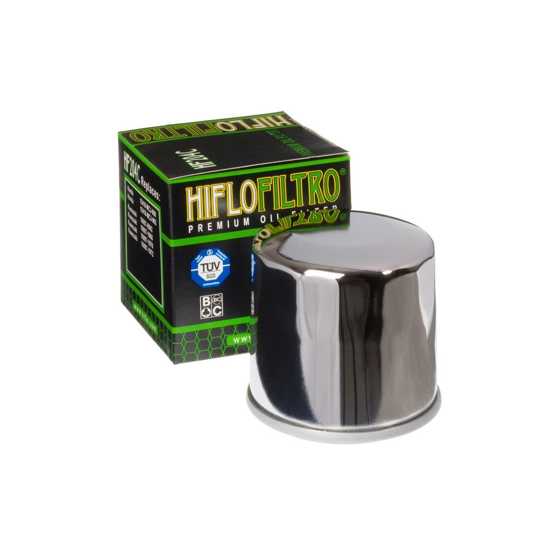 Filtro Aceite Hiflofiltro HF204C Cromado
