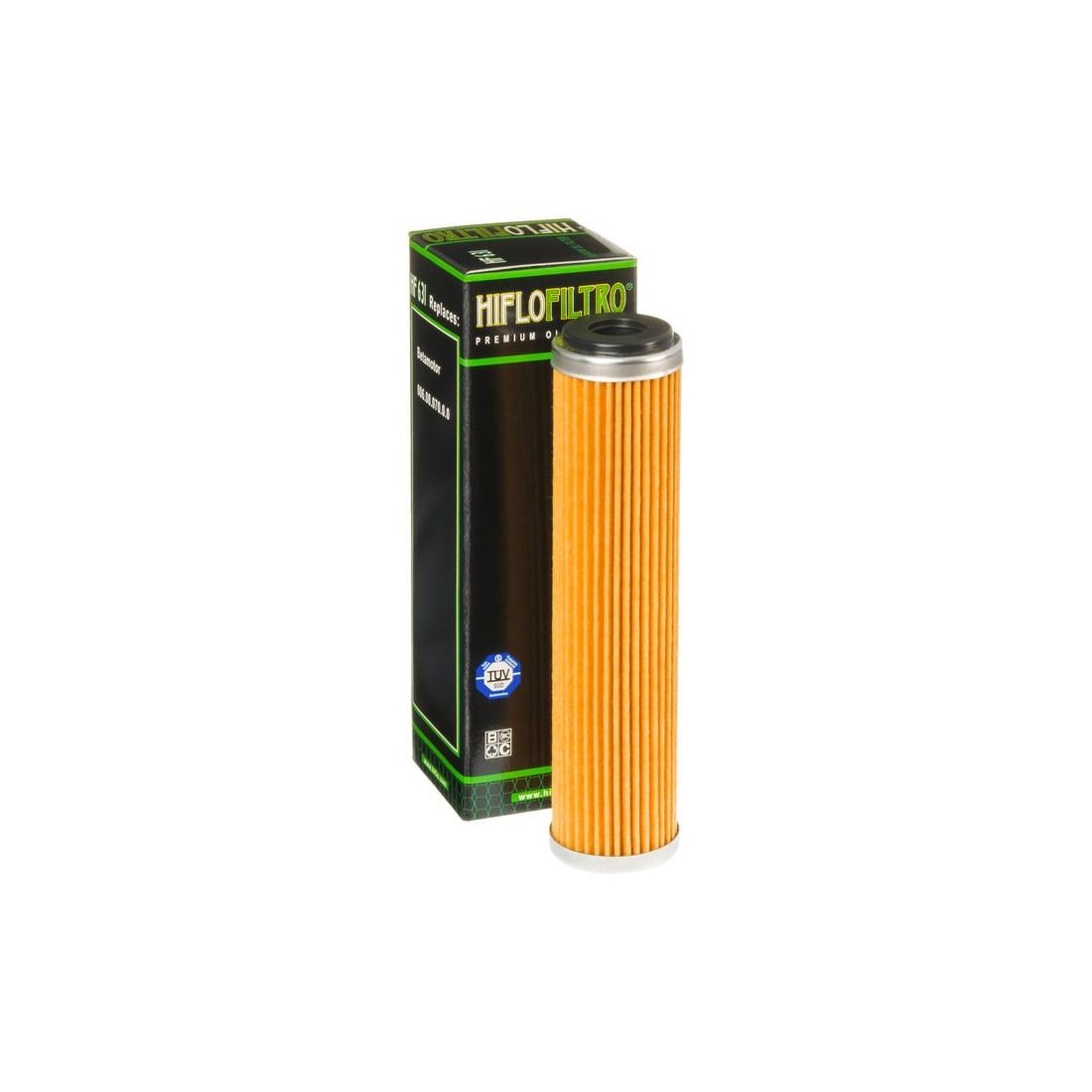Filtro Aceite Hiflofiltro HF631