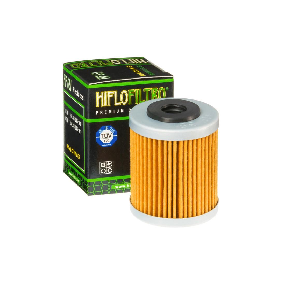 Filtro Aceite Hiflofiltro HF651