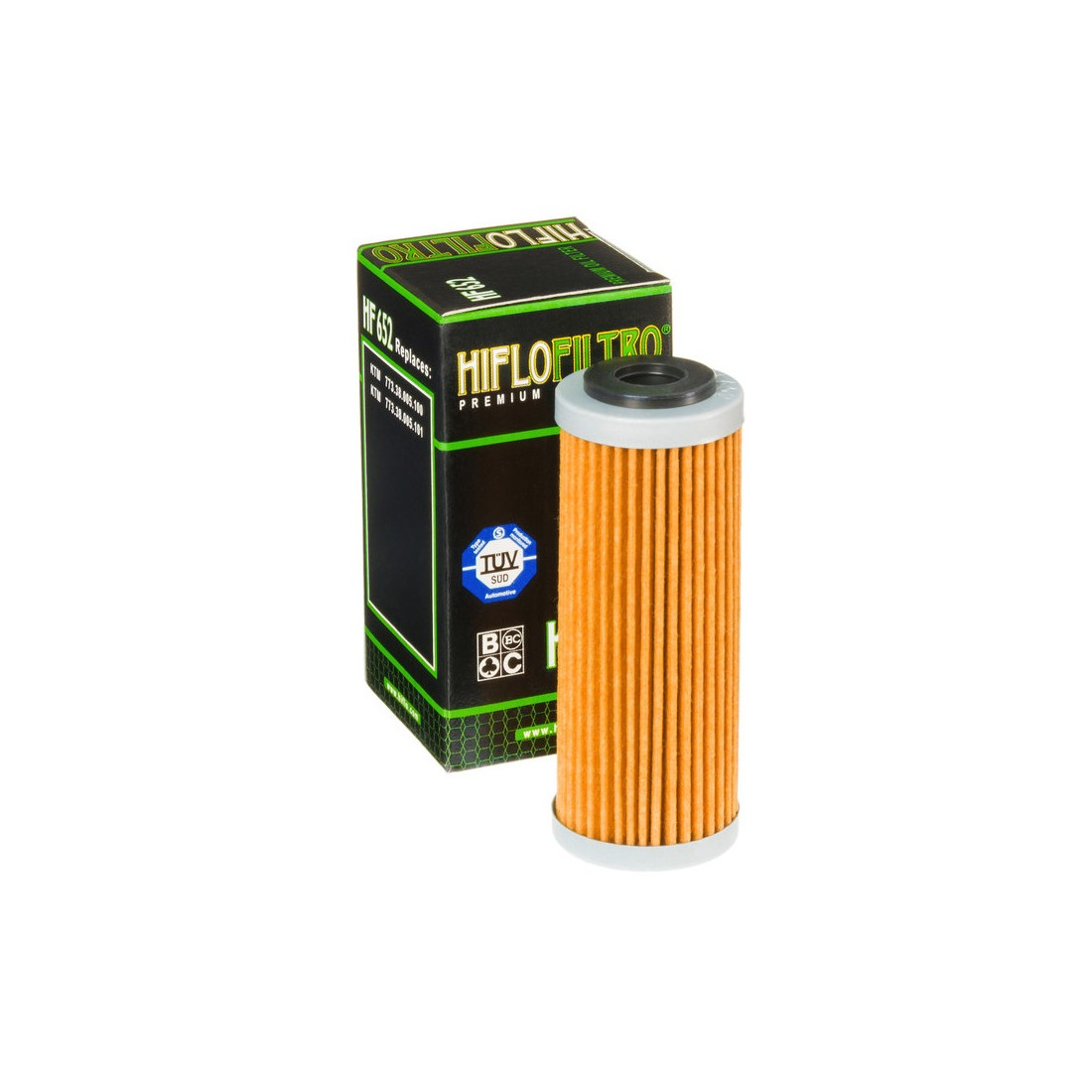 Filtro Aceite Hiflofiltro HF652