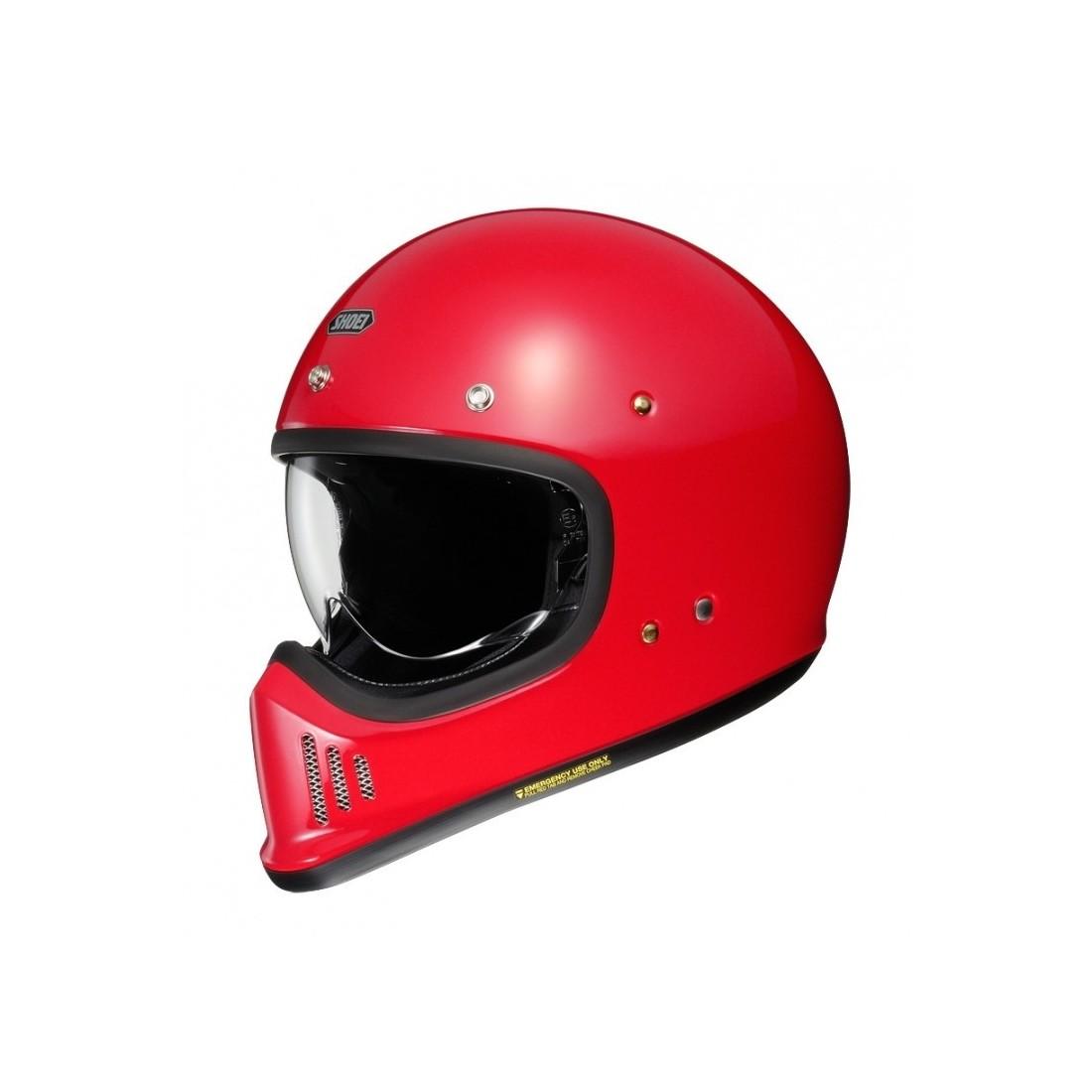 Casco Integral Shoei EX-Zero Rojo TALLA CASCO XS