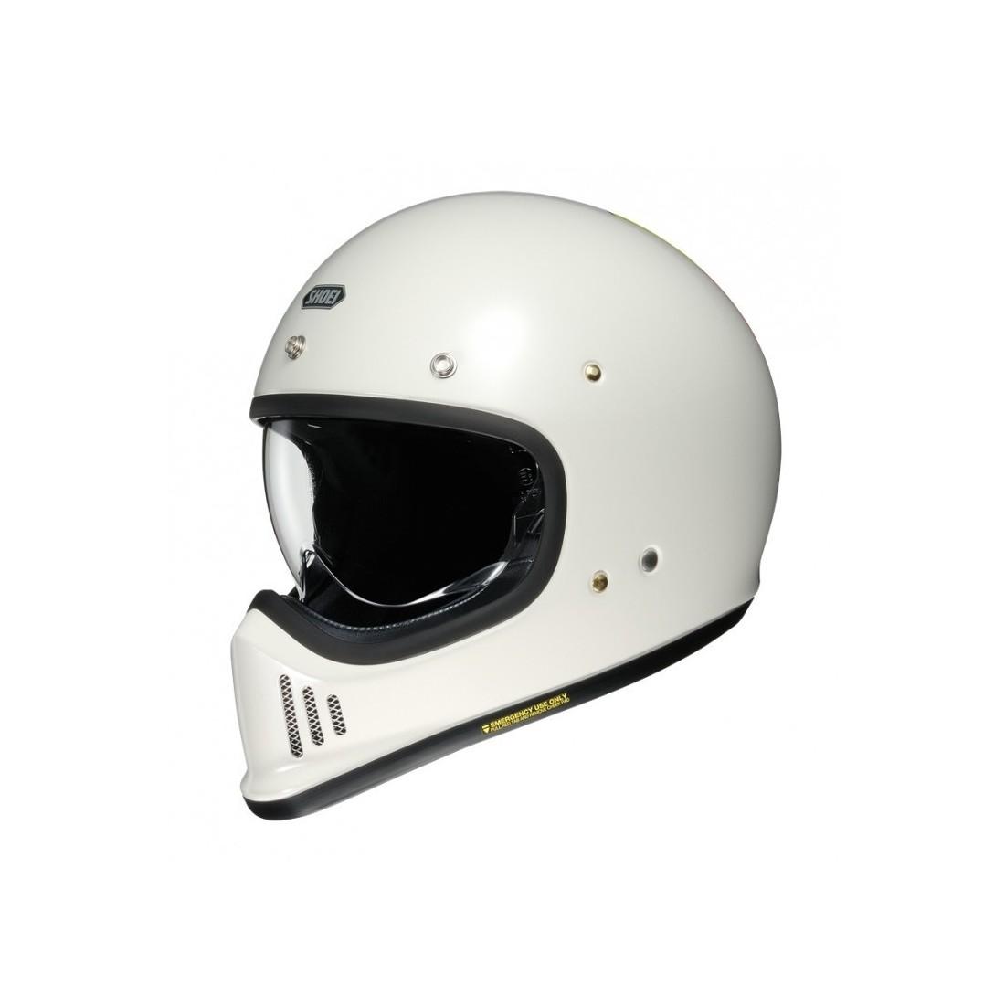 Casco Integral Shoei EX-Zero Blanco Off TALLA CASCO XS