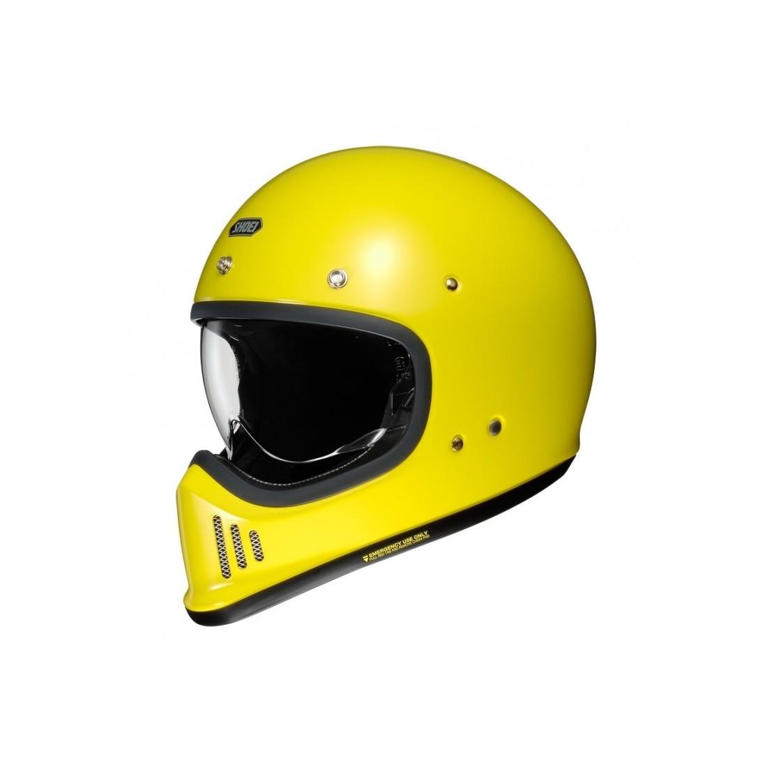 Casco Integral Shoei EX-Zero Amarillo TALLA CASCO XS