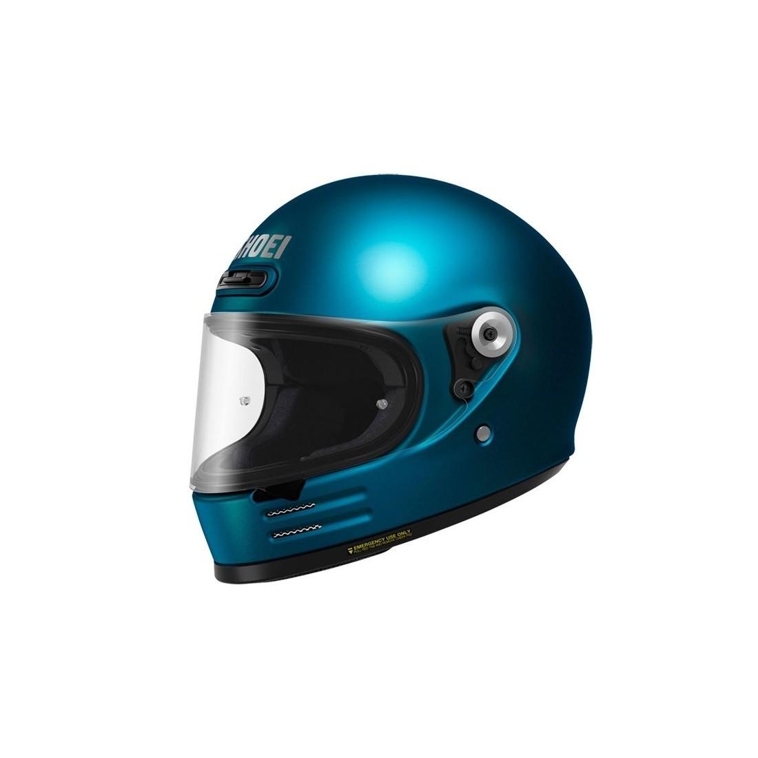 Casco Integral Shoei Glamster Azul TALLA CASCO XS