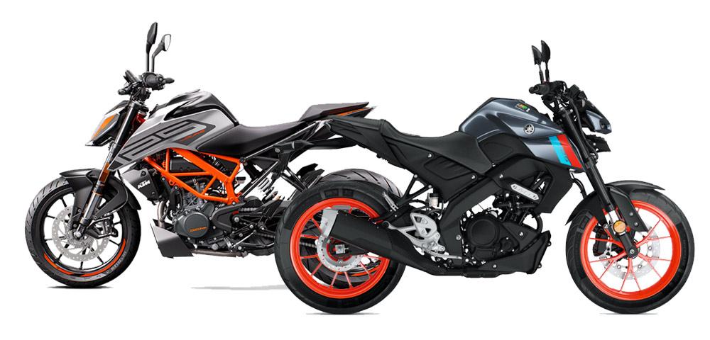 Yamaha MT-125 vs 125 Duke