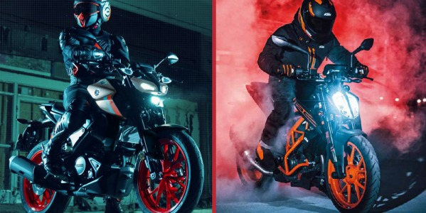 Yamaha MT-125 vs KTM 125 Duke: ¿Cuál es la reina Naked 2021?